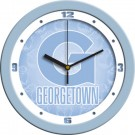 "Georgetown Hoyas 12"" Blue Wall Clock"