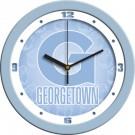 "Georgetown Hoyas 12"" Blue Wall Clock"