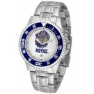 Georgetown Hoyas Competitor Watch with a Metal Band
