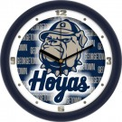 "Georgetown Hoyas 12"" Dimension Wall Clock"