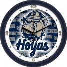 "Georgetown Hoyas 12"" Dimension Wall Clock"