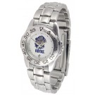 Georgetown Hoyas Gameday Sport Ladies' Watch with a Metal Band