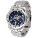 Georgetown Hoyas Sport Steel Band Ano-Chrome Men's Watch