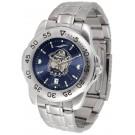 Georgetown Hoyas Sport Steel Band Ano-Chrome Men's Watch