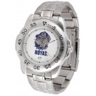 Georgetown Hoyas Sport Steel Band Men's Watch