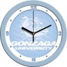 """Gonzaga Bulldogs 12"""" Blue Wall Clock"""