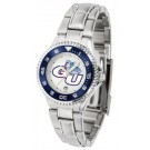 Gonzaga Bulldogs Competitor Ladies Watch with Steel Band