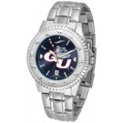 Gonzaga Bulldogs Competitor AnoChrome Men's Watch with Steel Band