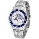 Gonzaga Bulldogs Competitor Watch with a Metal Band