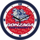 "Gonzaga Bulldogs 12"" Dimension Wall Clock"