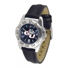 Gonzaga Bulldogs Sport AnoChrome Ladies Watch with Leather Band