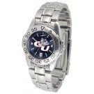 Gonzaga Bulldogs Sport AnoChrome Ladies Watch with Steel Band