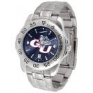 Gonzaga Bulldogs Sport Steel Band Ano-Chrome Men's Watch