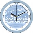 "Georgia Southern Eagles 12"" Blue Wall Clock"