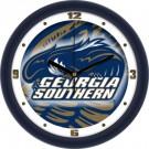 "Georgia Southern Eagles 12"" Dimension Wall Clock"
