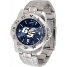 Georgia Southern Eagles Sport Steel Band Ano-Chrome Men's Watch