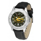 Grambling State Tigers Competitor AnoChrome Men's Watch with Nylon/Leather Band