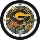 "Grambling State Tigers 12"" Camo Wall Clock"