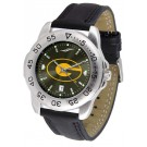 Grambling State Tigers Sport AnoChrome Men's Watch with Leather Band