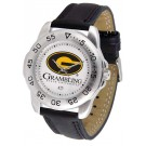 Grambling State Tigers Men's Sport Watch with Leather Band