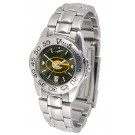 Grambling State Tigers Sport AnoChrome Ladies Watch with Steel Band