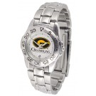 Grambling State Tigers Ladies Sport Watch with Stainless Steel Band