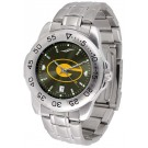Grambling State Tigers Sport Steel Band Ano-Chrome Men's Watch