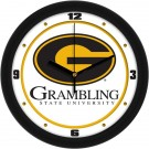 "Grambling State Tigers Traditional 12"" Wall Clock"