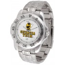 Georgia Tech Yellow Jackets Sport Steel Band Men's Watch