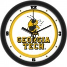 "Georgia Tech Yellow Jackets Traditional 12"" Wall Clock"