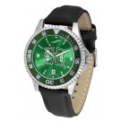 Hawaii Rainbow Warriors Competitor AnoChrome Men's Watch with Nylon/Leather Band and Colored Bezel