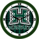 "Hawaii Rainbow Warriors 12"" Dimension Wall Clock"