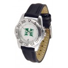 Hawaii Rainbow Warriors Ladies Sport Watch with Leather Band