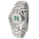 Hawaii Rainbow Warriors Ladies Sport Watch with Stainless Steel Band