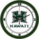 "Hawaii Rainbow Warriors Traditional 12"" Wall Clock"