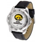 Iowa Hawkeyes Gameday Sport Men's Watch by Suntime