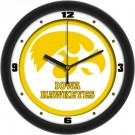 "Iowa Hawkeyes Traditional 12"" Wall Clock"