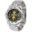 Idaho Vandals Sport Steel Band Ano-Chrome Men's Watch