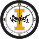 "Idaho Vandals Traditional 12"" Wall Clock"