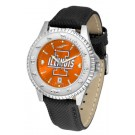 Illinois Fighting Illini Competitor AnoChrome Men's Watch with Nylon/Leather Band