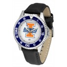 Illinois Fighting Illini Competitor Men's Watch by Suntime