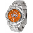 Illinois Fighting Illini Sport Steel Band Ano-Chrome Men's Watch