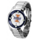 Illinois Fighting Illini Titan Steel Watch