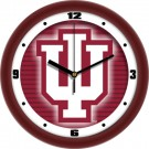 "Indiana Hoosiers 12"" Dimension Wall Clock"