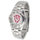 Indiana Hoosiers Gameday Sport Ladies' Watch with a Metal Band