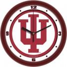 "Indiana Hoosiers Traditional 12"" Wall Clock"
