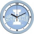 "Iowa State Cyclones 12"" Blue Wall Clock"