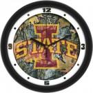 "Iowa State Cyclones 12"" Camo Wall Clock"