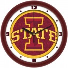 "Iowa State Cyclones 12"" Dimension Wall Clock"