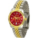 Iowa State Cyclones Executive AnoChrome Men's Watch by